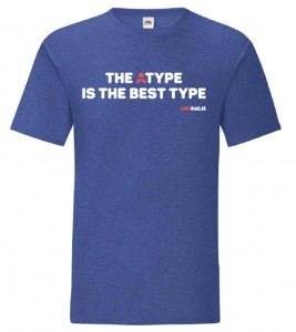 T-shirt klasyczny: The Atype is the best type