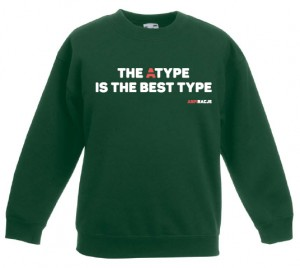 Bluza dziecięca: The Atype is the best type