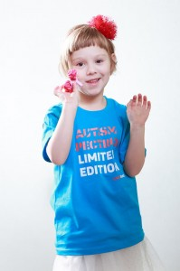 T-shirt dziecięcy: Autism spectrum limited edition (kolor)