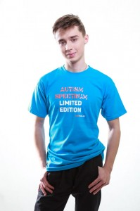 T-shirt klasyczny: Autism spectrum limited edition (kolor)